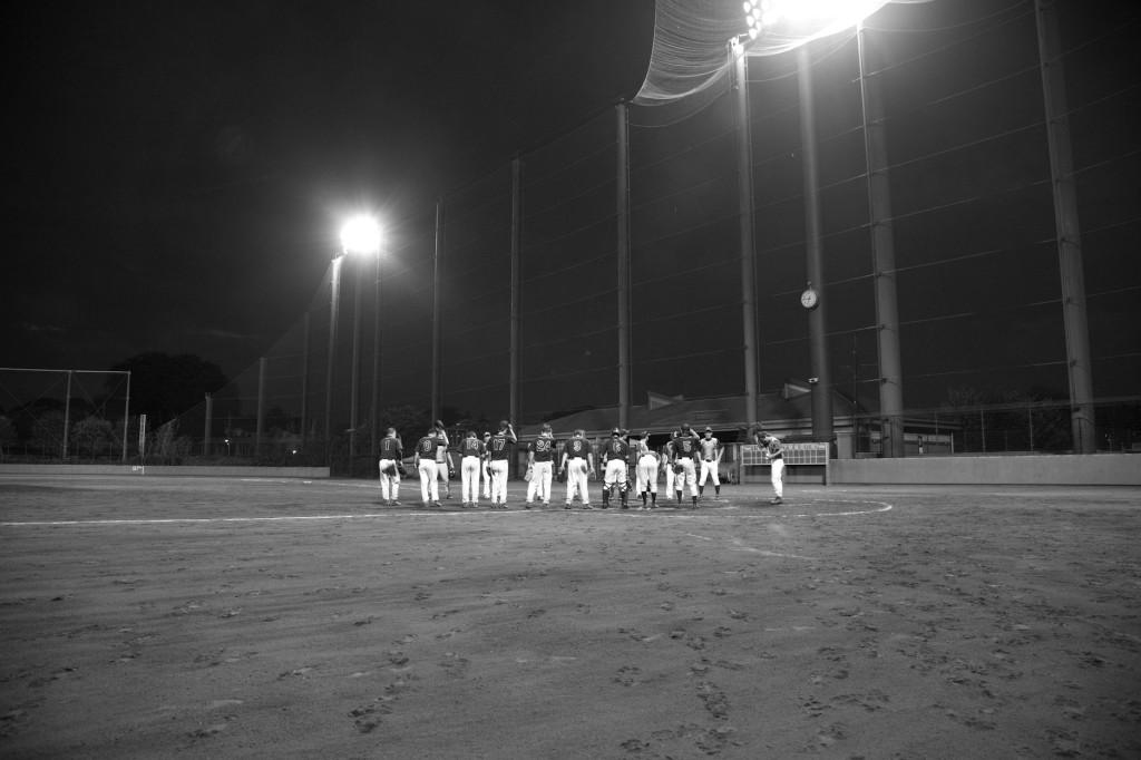 草野球試合イメージカット