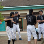 草野球メンバーの写真